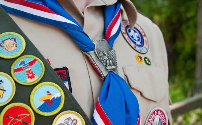 Boy Scout Troop WordPress Theme